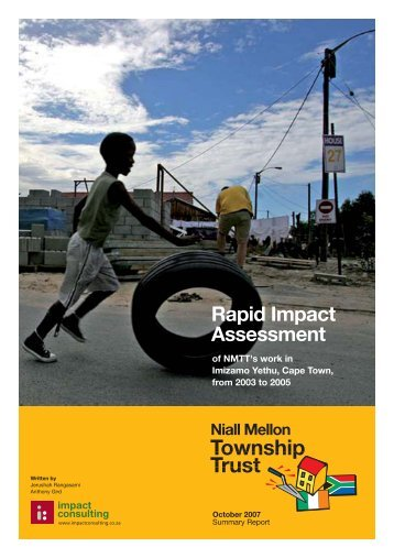 Mellon Housing Initiative Rapid Assessment - Impact Consulting