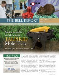 January - March, 2010 - Bell Laboratories
