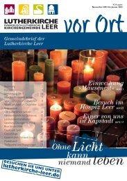 Nr. 43 – »Ohne Licht kann niemand leben - Lutherkirche Leer