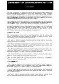 UNIVERSITY OF JOHANNESBURG PETITION - Aurdip - Page 2