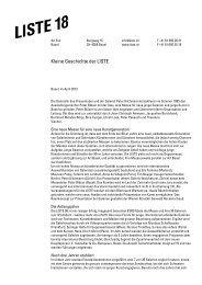 Kleine Geschichte der LISTE - The young art fair in Basel
