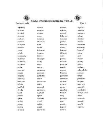 Kindergarten Spelling Words Worksheets Free Worksheets Library ...
