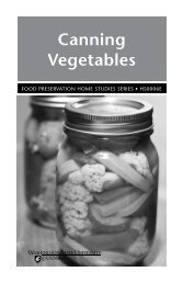 Canning Vegetables - WSU Whatcom County Extension ...