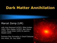 Dark Matter Annihilation