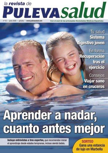 Más sobre aprender a nadar - Puleva Salud