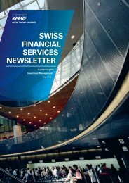 Swiss Financial Services Newsletter Mai 2012 - KPMG