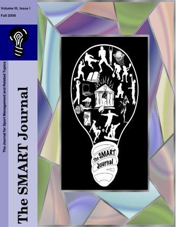Volume III, Issue I - The SMART Journal