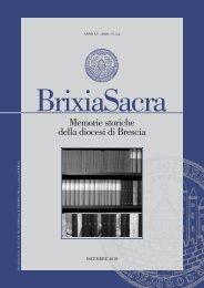 Terza serie (2010) XV, fascicolo 3-4 - Brixia Sacra
