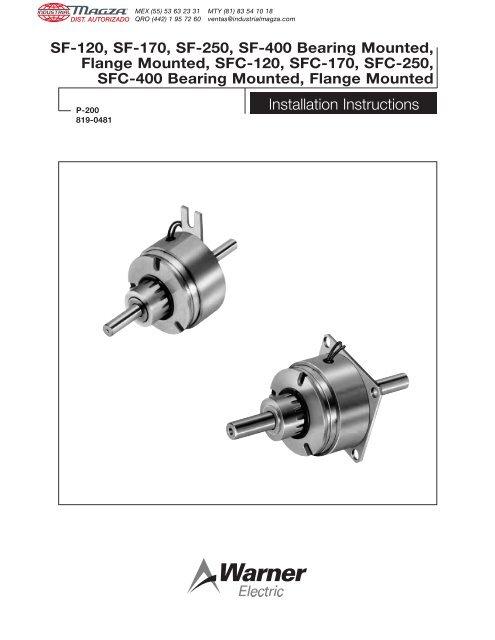 "1//2/"" Bore Warner Electric 5367 111 003 Clutch Coupling"
