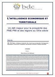 Intelligence économique et territoriale - Base de connaissance AEGE