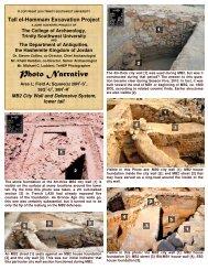 Photo Narrative - Tall el-Hammam Excavation Project, Jordan