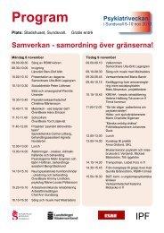 Program - Sundsvall