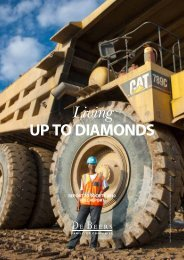 De Beers 2010 Report to Society - Anglo American