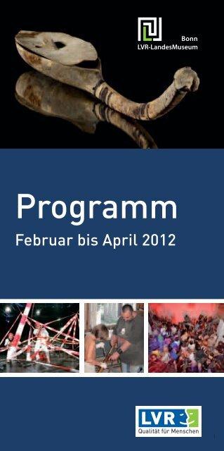 Programm - Rheinisches Landesmuseum Bonn