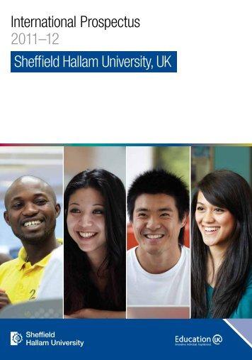 International Prospectus 2012 - Study in the UK