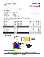 RLAS1216N - Richardson RFPD
