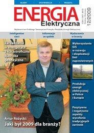 numer 12/2009 - E-elektryczna.pl