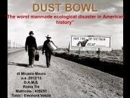 M. Mauro - Dust Bowl - mediastudies.it