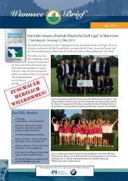 Wannsee Brief Mai 2013 - Der Golf- und Land-Club Berlin-Wannsee ...