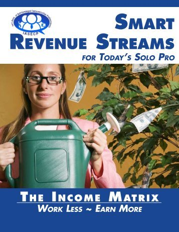 SMART REVENUE STREAMS - IASECP.com