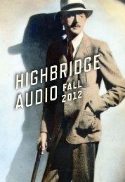 highbridge all2012 - Workman Publishing