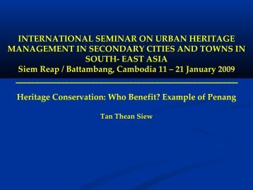 Tan Thean Siew_Heritage Conservation - who benefit.pdf - Forum for ...