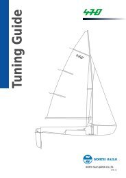 470 Tuning Guide E01 - North Sails - One Design