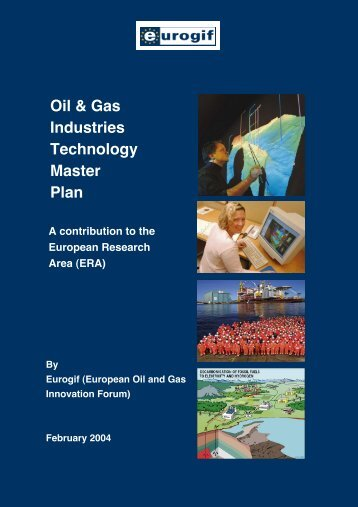 Oil & Gas Industries Technology Master Plan - GEP