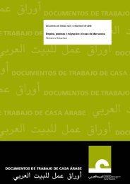 Empleo, pobreza y migración: el caso de Marruecos - Pensamiento ...