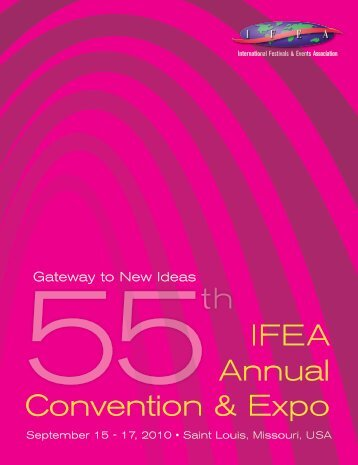 IFEA Annual Convention & Expo - International Festivals & Events ...