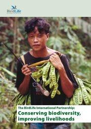 Conserving biodiversity, improving livelihoods - Avitourism