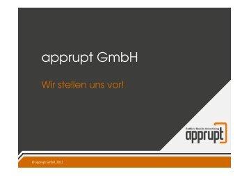 apprupt GmbH