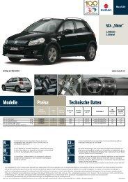 Modelle Preise Technische Daten - Auto Havelka