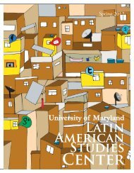 Spring 2012: Volume XX, Issue 2 - Latin American Studies Center