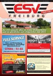 ESV Nachrichten 3-2013.indd - ESV Freiburg