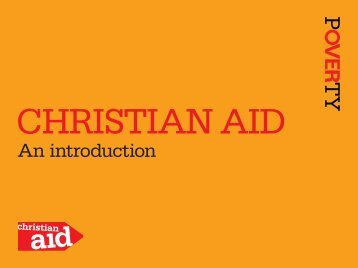 An introduction - Christian Aid