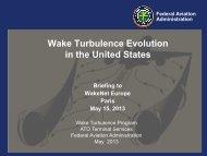 Wake Progression in the United States - Wakenet