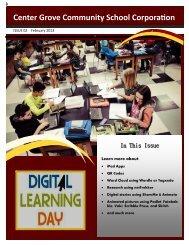 Digital Learning Day Newsletter - Center Grove Community School ...