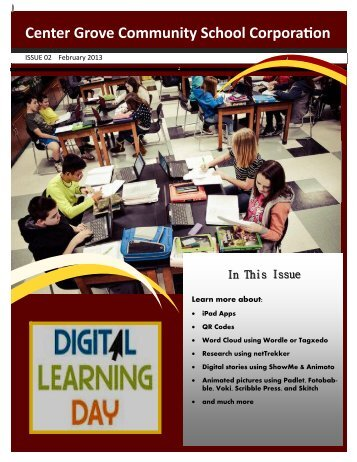 Digital Learning Day Newsletter - Center Grove Community School ...