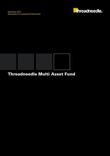 Threadneedle Multi Asset Fund - Threadneedle - Investments