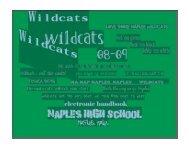 Parent/Student Handbook - Naples American High School - DoDEA