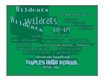 Parent/Student Handbook - Naples American High School - DoDEA