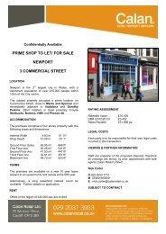 Newport, 3 Commercial Street - Calan - Retail Property Advisors