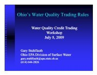 Ohio's Water Quality Trading Rules - Conservation Technology ...