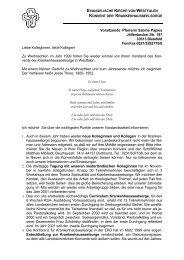 Rundbrief 1999 - Evangelische Krankenhausseelsorge in Westfalen