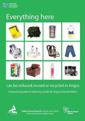 A to Z cover-inside pages - Angus Council