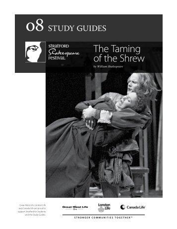 Study GuideS - Stratford Festival