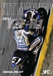 MANUAL DEL KIT - Yamaha Racing Parts