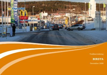 Birsta - trafikutredning - Sundsvall