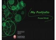 My Portfolio - Dipartimento di Comunicazione e Ricerca Sociale ...